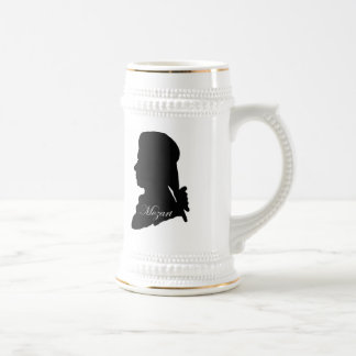 Stadler and Mozart Beer Stein