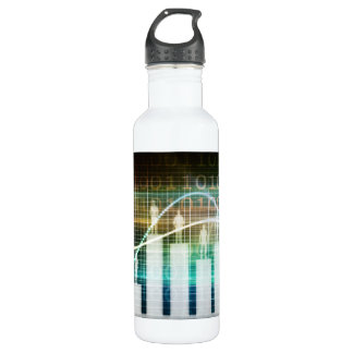 Staff Performance Appraisal with People Standing 710 Ml Water Bottle