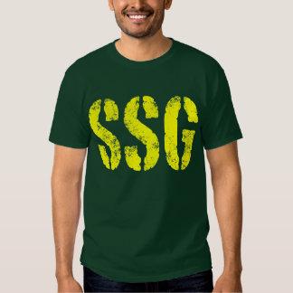 Staff Sergeant SSG rank Tee Shirts