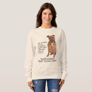 Staffie Mom Sweatshirt