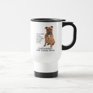 Staffie Mom Travel Mug
