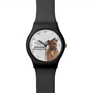 Staffie Mom Watch