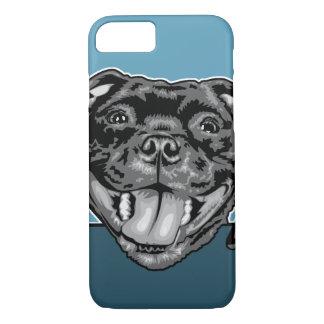 Staffie Smiler - Staffordshire Bull Terrier iPhone 8/7 Case