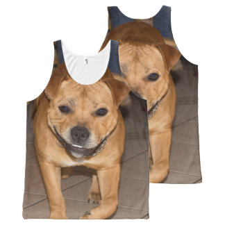 Staffordshire Bull Terrier All-Over-Print Tank Top