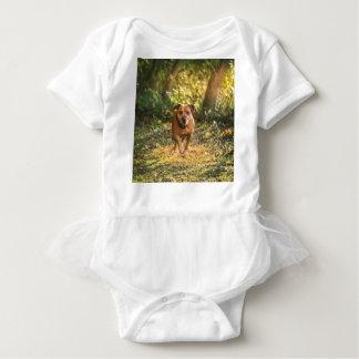 Staffordshire bull terrier baby bodysuit