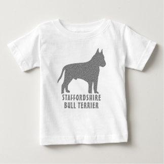 Staffordshire Bull Terrier Baby T-Shirt