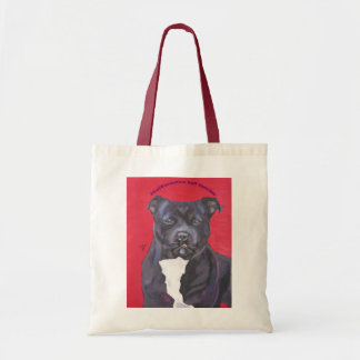 Staffordshire Bull Terrier bag