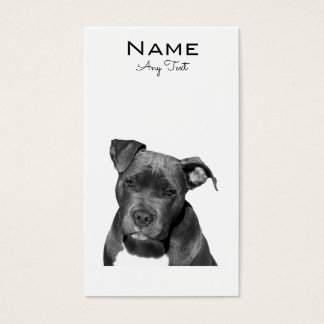 Staffordshire Bull Terrier Business Card