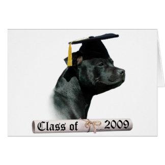 Staffordshire Bull Terrier Grad 09 Card