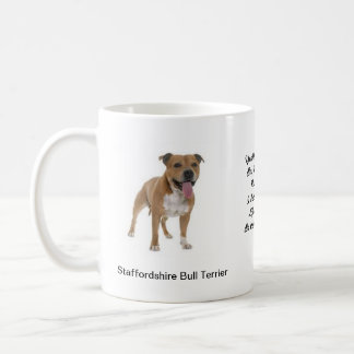Staffordshire Bull Terrier images on Mug