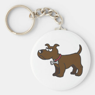 Staffordshire Bull Terrier Key Ring Basic Round Button Keychain