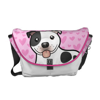 Staffordshire Bull Terrier Love Courier Bag