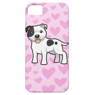 Staffordshire Bull Terrier Love iPhone 5 Case