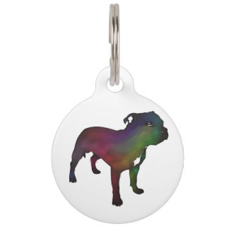 Staffordshire Bull Terrier Pet Nametags