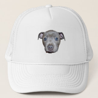 Staffordshire Bull Terrier Puppy Face, Trucker Hat