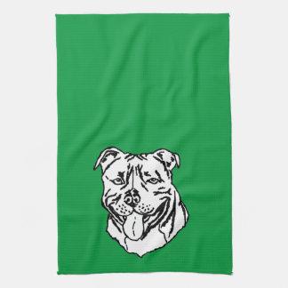 Staffordshire Bull Terrier STAFFY Kitchen Towel