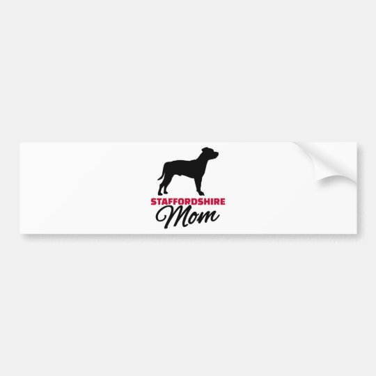 Staffordshire Mom Bumper Sticker