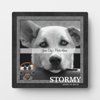 Staffordshire Terrier Dog Breed Memorial Plaque