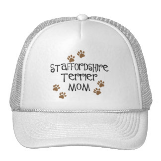 Staffordshire Terrier Mom Trucker Hat