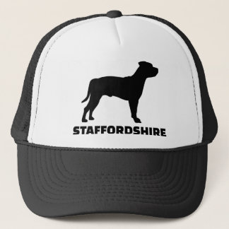 Staffordshire Terrier Trucker Hat