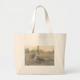 stag-7685 large tote bag