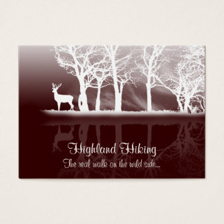 Stag At Dusk Business Card