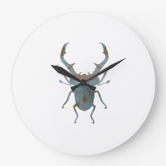 Stag Beetle Large Clock
