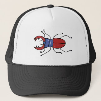 stag-beetle trucker hat
