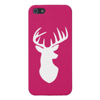 Stag Deer Head Silhouette iPhone 5/5S Case