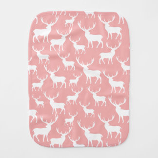 Stag Deer Pattern Burp Cloth