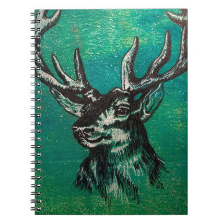 Stag head notebooks