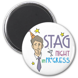 Stag Night Favors Magnets