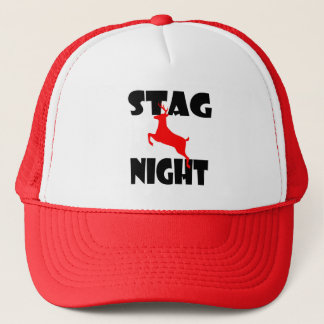 stag night hat