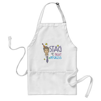 Stag Night Standard Apron