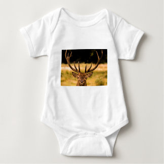 stag of richmond park baby bodysuit