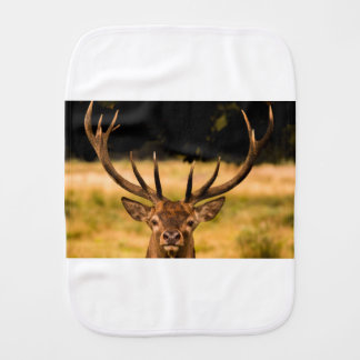 stag of richmond park burp cloths