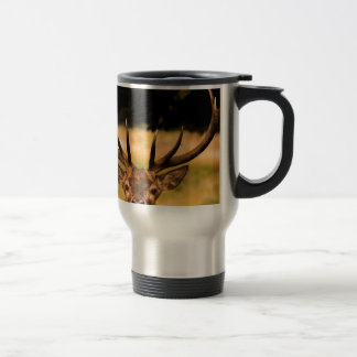 stag of richmond park travel mug
