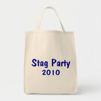 Stag Party 2010 Grocery Tote Bag