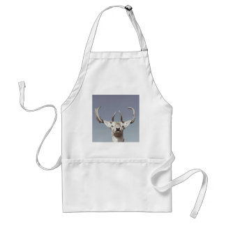 Stag prints stay Deer antlers Antlers Standard Apron