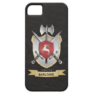 Stag Sigil Battle Crest Black iPhone 5 Cover