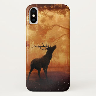 Stag Silhouette at Sunset Case-Mate iPhone Case