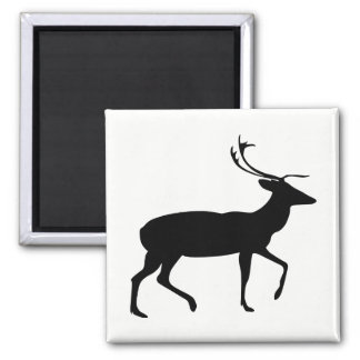 Stag Silhouette Magnet