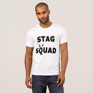 'Stag Squad' Crew Neck Tee