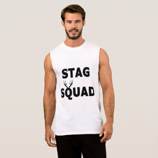 'Stag Squad' Sleeveless Tee