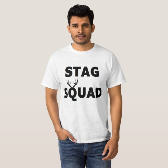 'Stag Squad' Value Tee