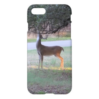 Stag tangles antlers in branch iPhone 7 case