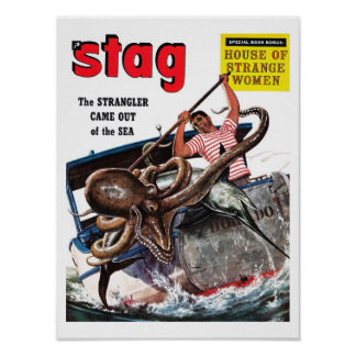 "Stag - ""The Strangler"" Poster"
