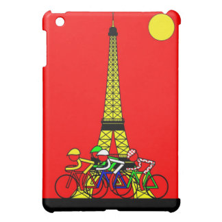Stage 21 The Eiffel Tower in Yellow Case For The iPad Mini