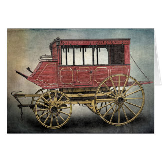 STAGE COACH CARD