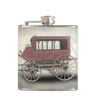 STAGE COACH HIP FLASK